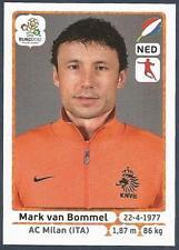 PANINI EURO 2012- #178-NEDERLAND-HOLLAND-AC MILAN-MARK VAN BOMMEL
