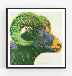 Andy Warhol - Ram Giclee Print Poster Large Wall Pop Art Endangered Species
