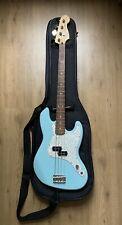 Fender Mark Hoppus Daphe Blue Signature Bass Rare Used