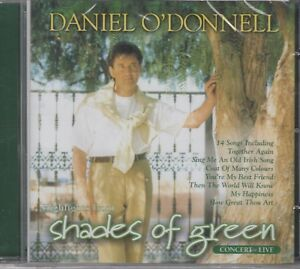 """Daniel O'Donnell """"Highlights From Shades Of Green Live Concert"""" NEW & SEALED CD"""