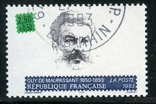 STAMP / TIMBRE FRANCE OBLITERE N° 2799 CELEBRITE GUY DE MAUPASSANT