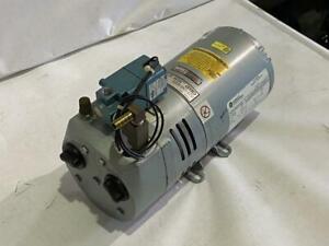 GAST 1/4HP VACUUM PUMP # 0523-124Q-G21DX  220-250VAC 1PH.   50HZ.  1425RPM