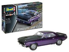 1970 Plymouth AAR Cuda 1:25 Plastic Model Kit REVELL