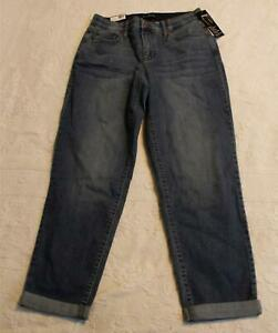 Kim Rogers Women's Girlfriend Tummy Control Jeans DD5 Belle Wash Size 6 NWT