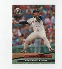 1992 Fleer Ultra #15 Roger Clemens Boston Red Sox Baseball Card