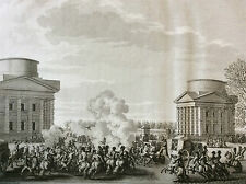 Révolution française ex-députés déportation Billaud Collot Barrère gravure 1804
