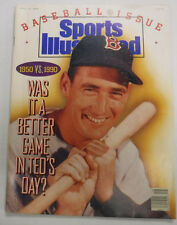 Sports Illustrated Magazine Ted Williams April 1990 NO ML 081715R