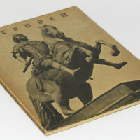 Dresden 1930's German Photo Book w/39 pictures Lady's Church Zwinger Castle