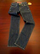 womens apple bottoms jeans 7/8 nwt slim stretch dark