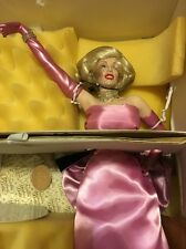 Franklin Mint Marilyn Monroe as Lorelei Lee in Gentlemen Prefer Blondes
