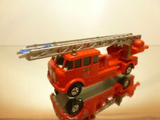 MATCHBOX K-15 MERRYWEATHER FIRE ENGINE - EXTREMELY RARE - L13.5cm - VERY GOOD