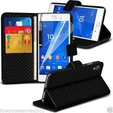 Fundas y carcasas de piel sintética para teléfonos móviles y PDAs Sony