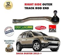 FOR DACIA DUSTER 1.2 1.6 1.5 DCI 2012-> NEW RIGHT SIDE OUTER TRACK RACK ROD END