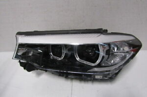 2017-2019 BMW 5 SERIES 530I 540I OEM LEFT LED HEADLIGHT W/O ADAPTIVE T1