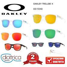 OAKLEY OO 9340 TRILLBE X OCCHIALI DA SOLE SPECCHIO POLAR UOMO DONNA OCCHIALE