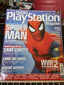 Official PlayStation Magazine, Spider-Man Exclusive,62, September 2000 With Disc
