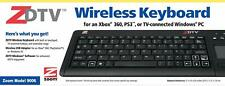 Zoom ZDTV Compact Wireless Keyboard for XBOX 360/Playstation 3/HDTV