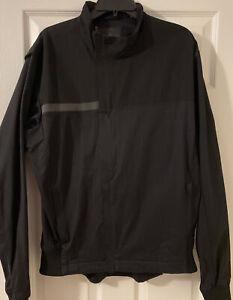 Rapha City Fixed Jacket Black- Size XXL Full Zip Reflective