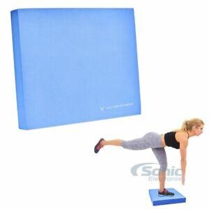 Victor Fitness VFBMBL Non-Slip Balance Stability Pad Foam Yoga Mat Trainer Blue