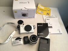 Nikon 1 J3 14.2MP Digital Camera - White (Kit w/ VR 10-30mm Lens) READ