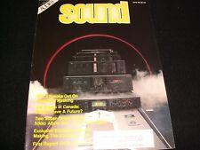 RARE SOUND CANADA MAGAZINE ° JUNE 1983<>NIKKO ALPHA 440 POWER AMP