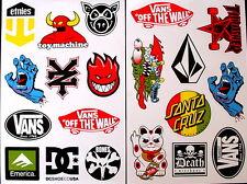 2 Sheets scooter motocross Stickers atv mx Energy Rockstar BMX Bike 8909 decal