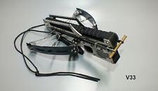 Newest Shooting Toy V33 Made SK7 Spring Steel Limbs Stainless Steel Carbon Fiber
