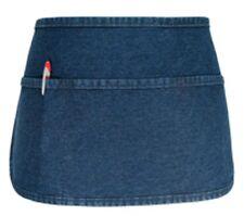 "6 pack of Daystar #100Dn 3 Pocket Waist Apron Denim Stone Washed 11""x 23"" Usa"