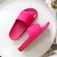 Rubber Slides Sandals Women Beach Candy Summer Slippers Shoes Flip Flops Red NEW
