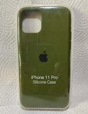 Original Apple iPhone 11 Pro Silikon Case in Kaktusgrün
