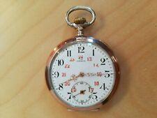 9T239 Omega silver pocket watch 欧米茄 银壳