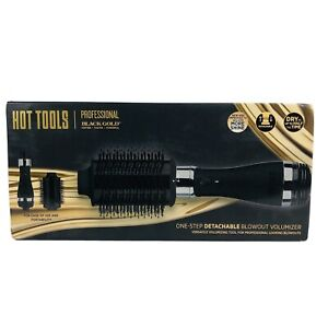 HOT TOOLS ONE STEP BLOWOUT - Professional Black Gold - New