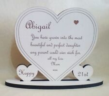 Personalised-18th-21st-Daughter-Any-Age-Birthday-Present Gift Heart Keepsake
