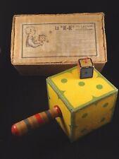 Ancien rare jouet Bilboquet Le Dé - Dé Jeu d'adresse patience en boîte 1920 MG