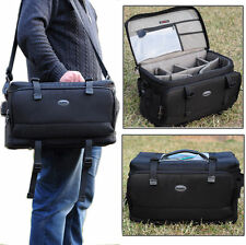 Large Thick Waterproof Professional Shoulder Camera Bag Case for Nikon Canon SLR