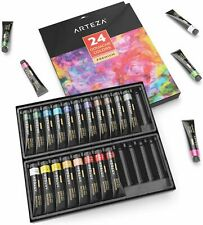 ARTEZA Gouache Professional Artist Paint, 12ml Tubes, Set of 24