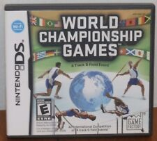 Nintendo DS World Championship Games Game, Manual & Case