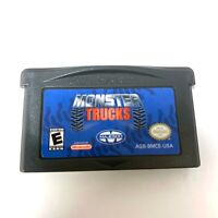 MONSTER TRUCKS NINTENDO GAMEBOY ADVANCE SP GBA Game Tested + Working!