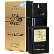 JACQUES BOGART ONE MAN SHOW GOLD ED. EAU DE TOILETTE HOMME 100ml VAPO / BLISTER