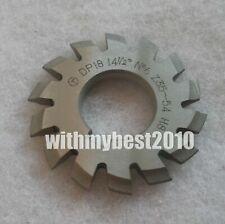 Lot 1pcs Dp16 14-1//2 degree 8# Involute Gear Cutters No.8 Dp16 Gear Cutter