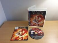 PLAYSTATION 3 - PS3 - HEAVENLY SWORD - COMPLETE WITH MANUAL - FREE P&P
