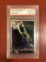 1997 Topps Chrome Basketball Tracy McGrady (R) #125 PSA 10 MAGIC GEM MINT HOF