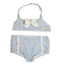 """NWT Janie and Jack /""""Janie/'s Hideaway/"""" Glow Coral Dot 2-Pc Swimsuit 5 7 8 10"""