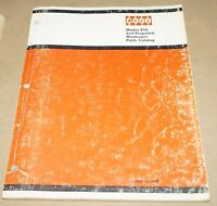 CASE Model 950 Self-Propelled Windrower Parts Catalog Manual Book