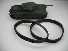 DINKY TOYS REPLACEMENT TREADS FOR #651 CENTURION TANK  TREADS ONLYONE PAIR.