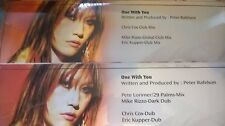 "Sun - One With You STILL SEALED Promo 2004 2x12"" parts 1 & 2 29 palms chris cox"