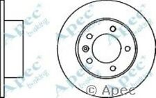 1x OE Quality Replacement Rear Axle Apec Solid Brake Disc 5 Stud 305mm - Pair