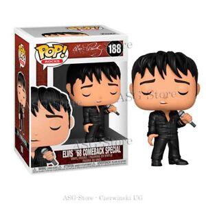 Funko Pop Rocks 188 Elvis Presley ´68 Comeback Special