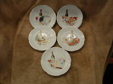 Excellent Condition Set Of 5 Serving Tray Platters For Hors D'Oeuvres France