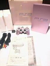 ★Sony PlayStation 2 PS2 SCPH-50000 SA Sakura Pink Boxed tested working★ Japan ★